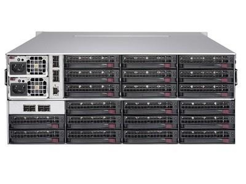 Корпус для сервера 4U 1280W BLACK 847E1C-R1K28JBOD SUPERMICRO