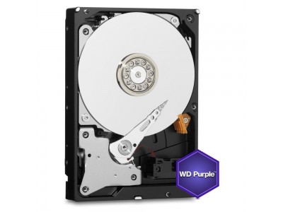 Жесткий диск SATA 1TB 6GB/S 64MB PURPLE WD10PURZ WDC