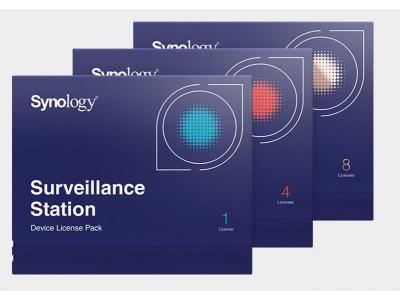 Лицензия /SURVEILLANCE STATION PACK4 DEVICE SYNOLOGY