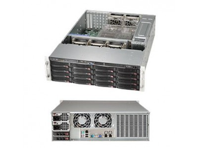 Сервер E5-2637V4 2X16GB 16X2TB CSE-836BE1C-R1K03B SUPERMICRO