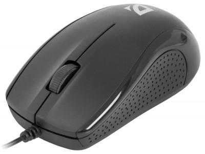 Мышка USB OPTICAL MB-160 BLACK 52160 DEFENDER