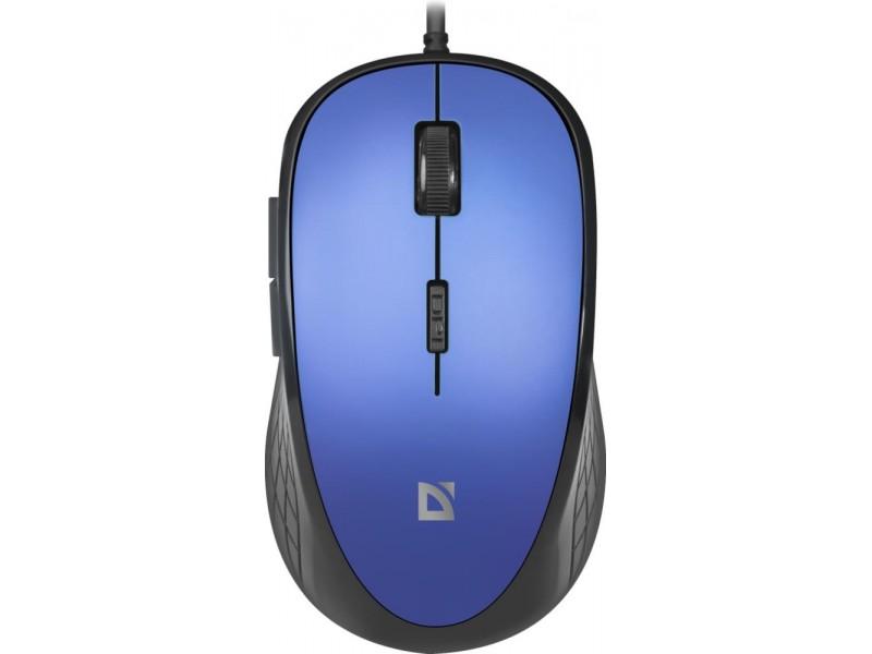 Мышка USB OPTICAL MM-520 BLUE 52520 DEFENDER