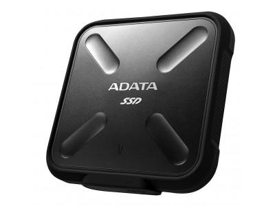 SSD жесткий диск USB3.2 512GB EXT. BLACK ASD700-512GU31-CBK A-DATA