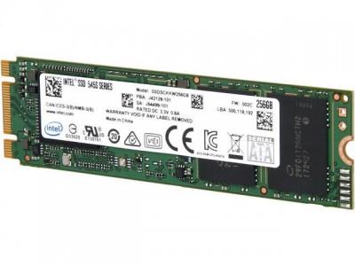 SSD жесткий диск M.2 2280 256GB TLC 545S SER SSDSCKKW256G8X1 INTEL