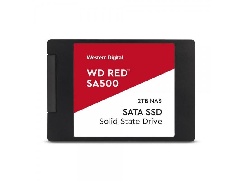 """SSD жесткий диск SATA2.5"""" 2TB RED WDS200T1R0A WDC"""