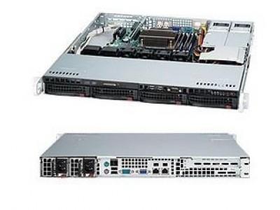 Корпус для сервера 1U 400W BLACK CSE-813MTQ-R400CB SUPERMICRO