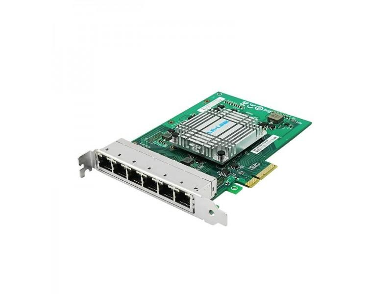 Сетевой адаптер PCIE 1GB 6PORT LRES2006PT LR-LINK