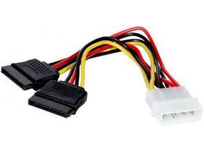 Кабель MOLEX TO 2SATA 0.2M AT8605 ATCOM