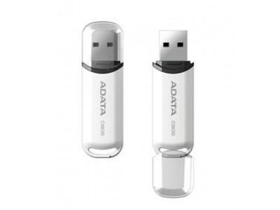Флэш-накопитель USB2 16GB WHITE AC906-16G-RWH A-DATA