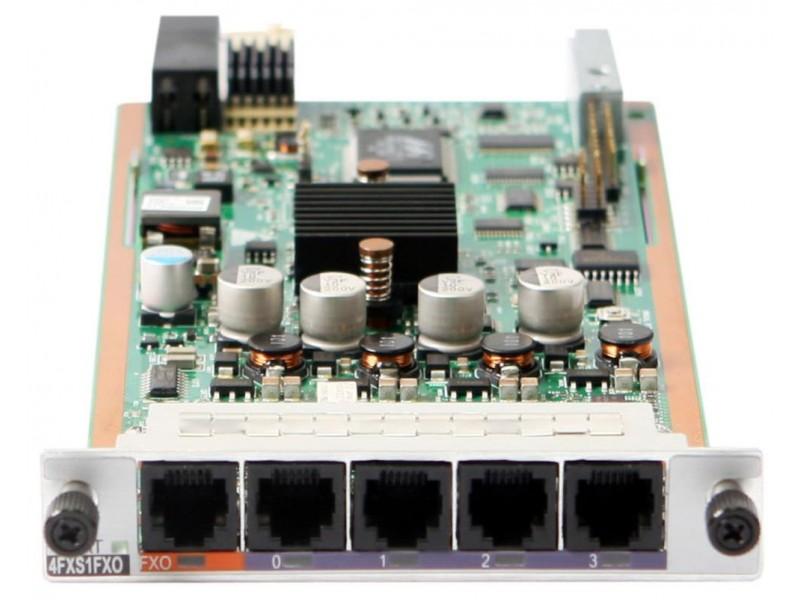 Интерфейсная SIC плата для маршрутизаторов с поддержкой Voice функционала AR0MSVA4B1A0 03020RMY HUAWEI