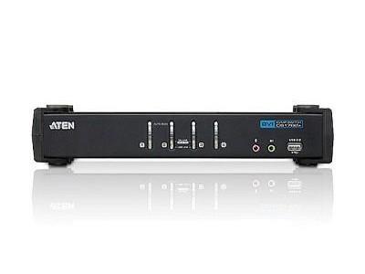KVM-переключатель USB DVI 4PORT CS1764A-AT-G ATEN