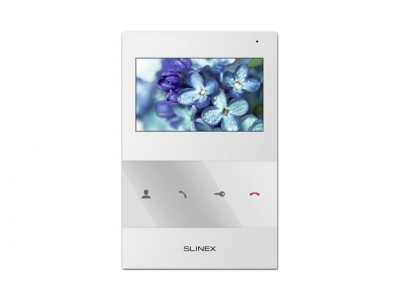 "Монитор LCD 4.3"" IP DOORPHONE SQ-04 WHITE SLINEX"