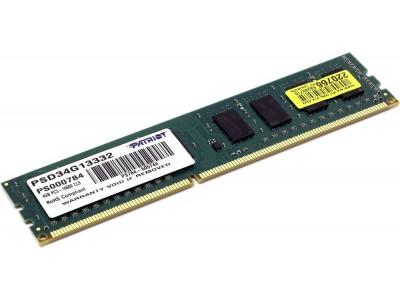 Модуль памяти DIMM 4GB PC10600 DDR3 PSD34G13332 PATRIOT