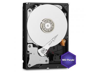 Жесткий диск SATA 1TB 6GB/S 64MB PURPLE WD10PURZ WDC