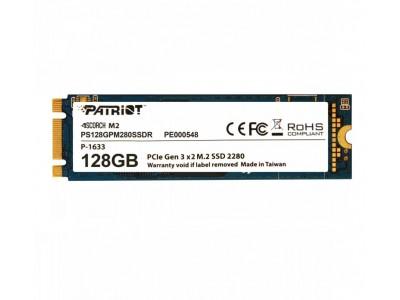 SSD жесткий диск M.2 2280 128GB TLC SCORCH PS128GPM280SSDR PATRIOT