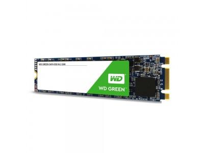 SSD жесткий диск M.2 2280 240GB TLC GREEN WDS240G2G0B WDC