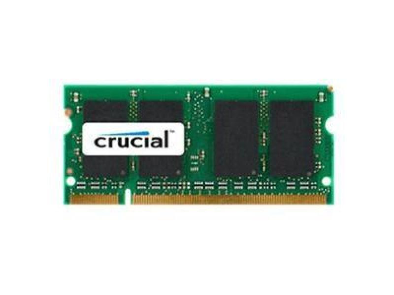 Модуль памяти для ноутбука 2GB PC6400 DDR2 SO CT25664AC800 CRUCIAL