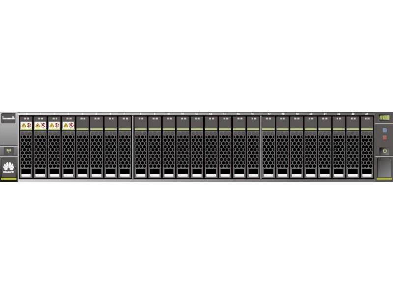 Система хранения данных RACK 2200V3/25-2 12GE 0GB/16GB/AC SAN HUAWEI