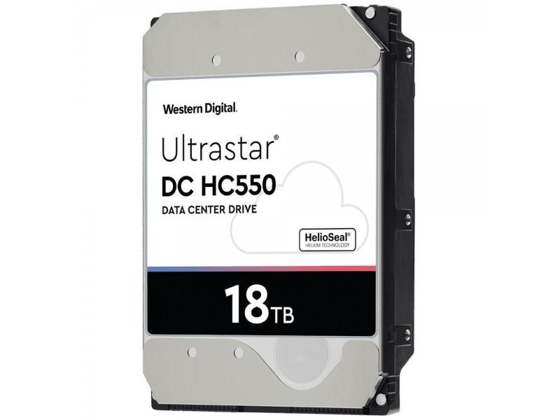 Жесткий диск SATA 18TB 7200RPM 6GB/S 256MB DC HC550 0F38459 WD