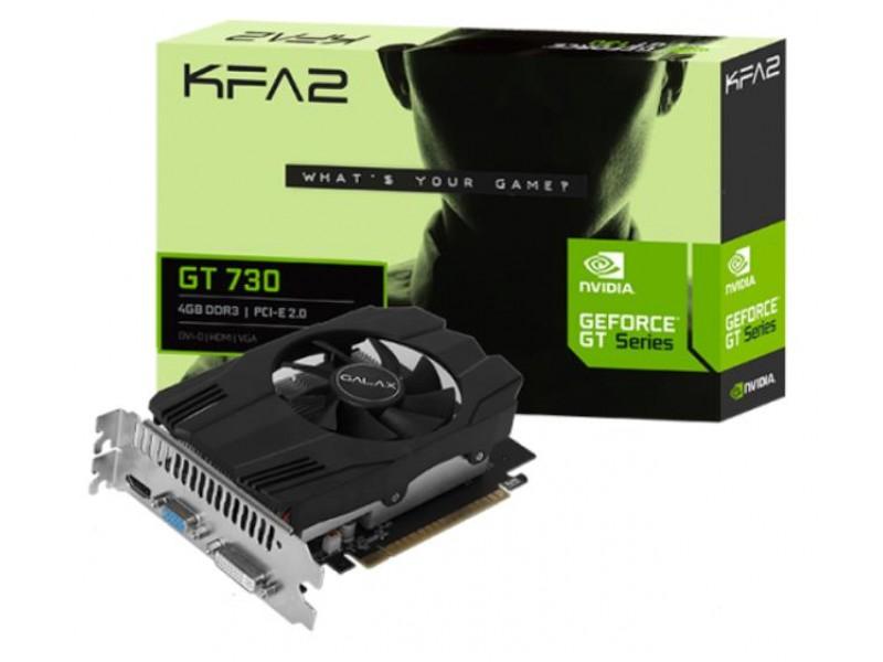 Видеокарта PCIE16 GT730 4GB DDR3 GT 730 4GB D3 KFA2