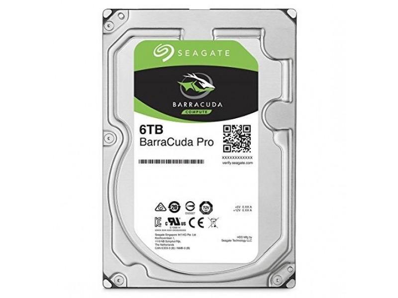 Жесткий диск SATA 6TB 5400RPM 6GB/S 256MB ST6000DM003 SEAGATE