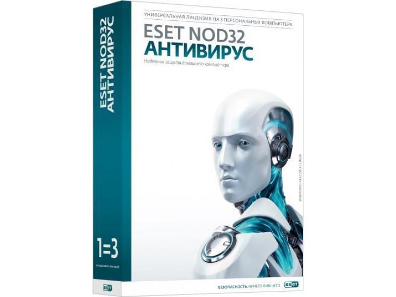 Лицензия NOD32-EIS-NS(EKEY)-2-3 LITSENZIYA NA 2 GODA NA 3PK
