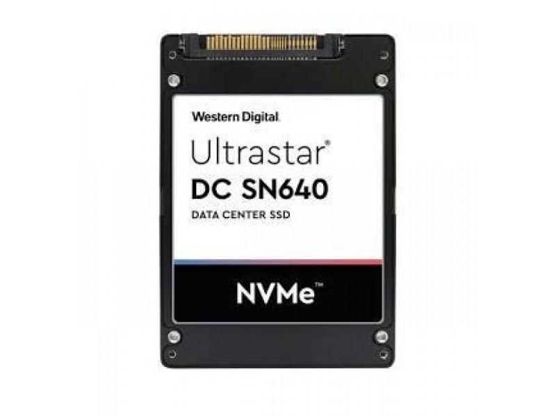 SSD жесткий диск PCIE 3.84TB TLC DC SN640 0TS1962 WD