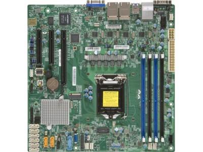 Серверная материнская плата C236 S1151 MATX BLK MBD-X11SSH-LN4F-B SUPERMICRO