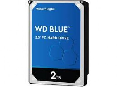 Жесткий диск SATA 2TB 6GB/S 256MB BLUE WD20EZAZ WDC
