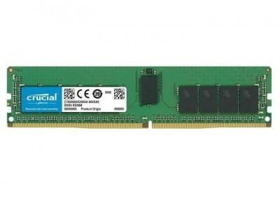 Модуль памяти CRUCIAL DDR4 16Гб RDIMM 3200 МГц Множитель частоты шины 22 1.2 В CT16G4RFS832A