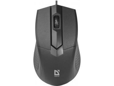 Мышка USB OPTICAL MB-270 BLACK 52270 DEFENDER