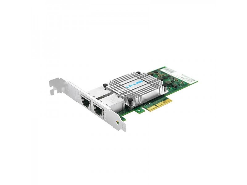 Сетевой адаптер PCIE 10GB DUAL PORT LREC9812BT LR-LINK