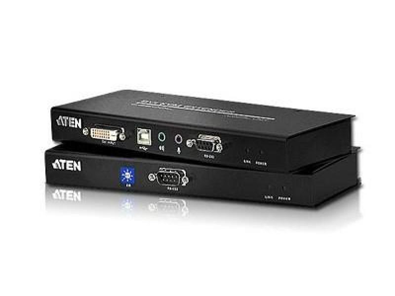 KVM-переключатель EXT CAT5 60M USB/DVI CE600-A7-G ATEN