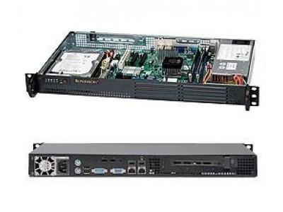 Корпус для сервера 1U 200W BLACK CSE-502L-200B SUPERMICRO
