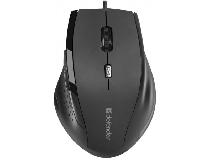Мышка USB OPTICAL ACCURA MM-362 BLACK 52362 DEFENDER