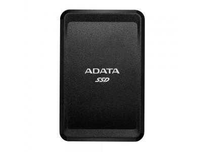 SSD жесткий диск USB-C 250GB EXT. BLACK ASC685-250GU32G2-CBK A-DATA