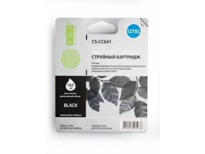 Картридж BLACK NO.121XL 18ML CS-CC641 CACTUS