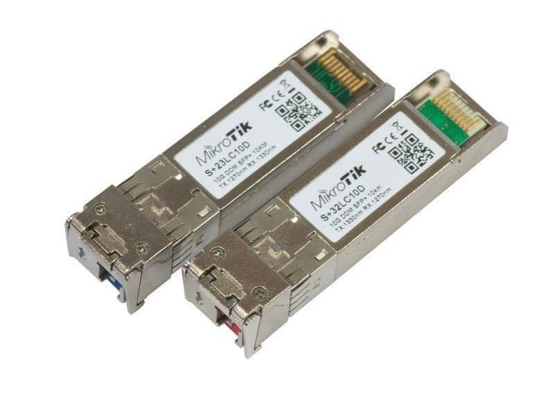 Модуль SFP+ 10G KIT PAIR S+2332LC10D MIKROTIK