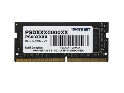 Модуль памяти для ноутбука 4GB PC21300 DDR4 SO PSD44G266681S PATRIOT