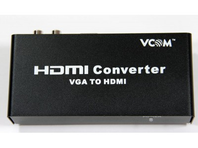 Конвертер VGA TO HDMI DD491 VCOM