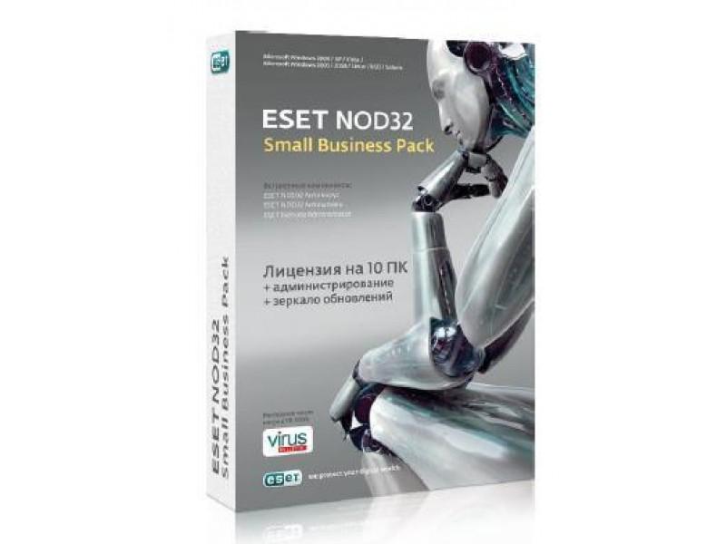 Лицензия ESDNOD32-SBP-NS(KEY)-1-3 ESET NOD32 Small Bu