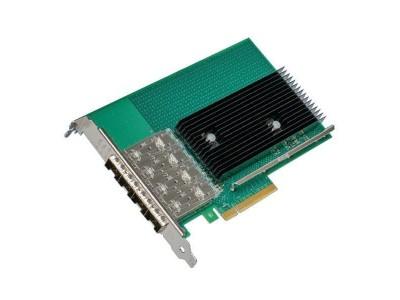 Сетевой адаптер PCIE 10GB QUAD PORT X722-DA4 X722DA4FH INTEL