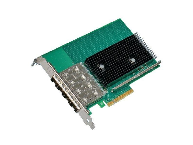 Сетевой адаптер PCIE 10GB QUAD PORT X722-DA4 X722DA4FH INTEL