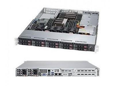 Серверная платформа 1U BLACK SYS-1028R-WTR SUPERMICRO