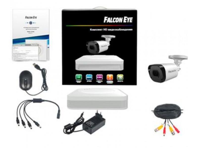 Комплект видеонаблюдения 4CH + 1CAM KIT FE-104MHD START SMA FALCON EYE
