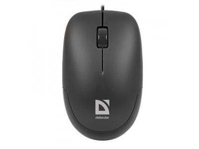Мышка USB OPTICAL DATUM MM-010 BLACK 52010 DEFENDER