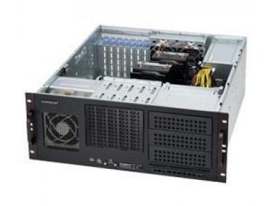 Корпус для сервера 4U 500W BLACK CSE-842I-500B SUPERMICRO