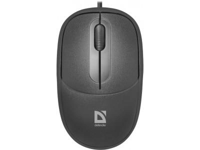 Мышка USB OPTICAL DATUM MS-980 BLACK 52980 DEFENDER