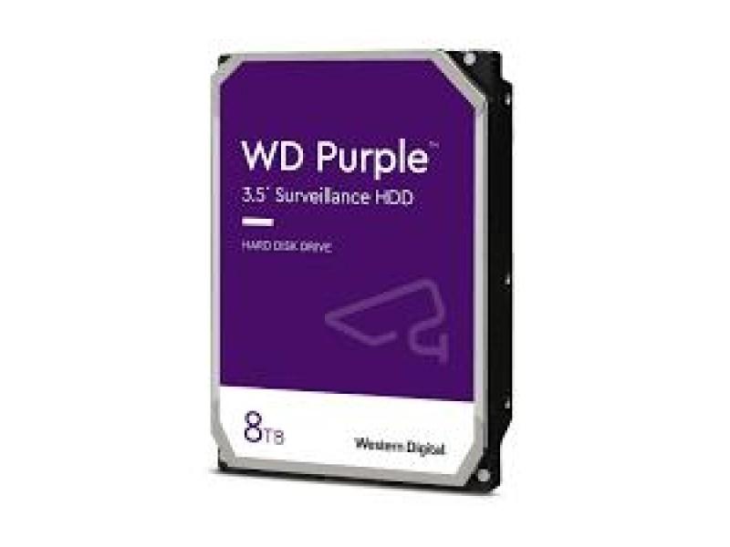 Жесткий диск SATA 8TB 6GB/S 128MB PURPLE WD84PURZ WDC
