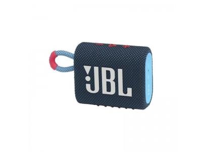 Акустическая система 1.0 BLUETOOTH GO 3 BLUE JBL